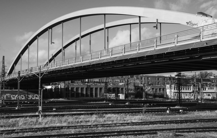 bridge and rails