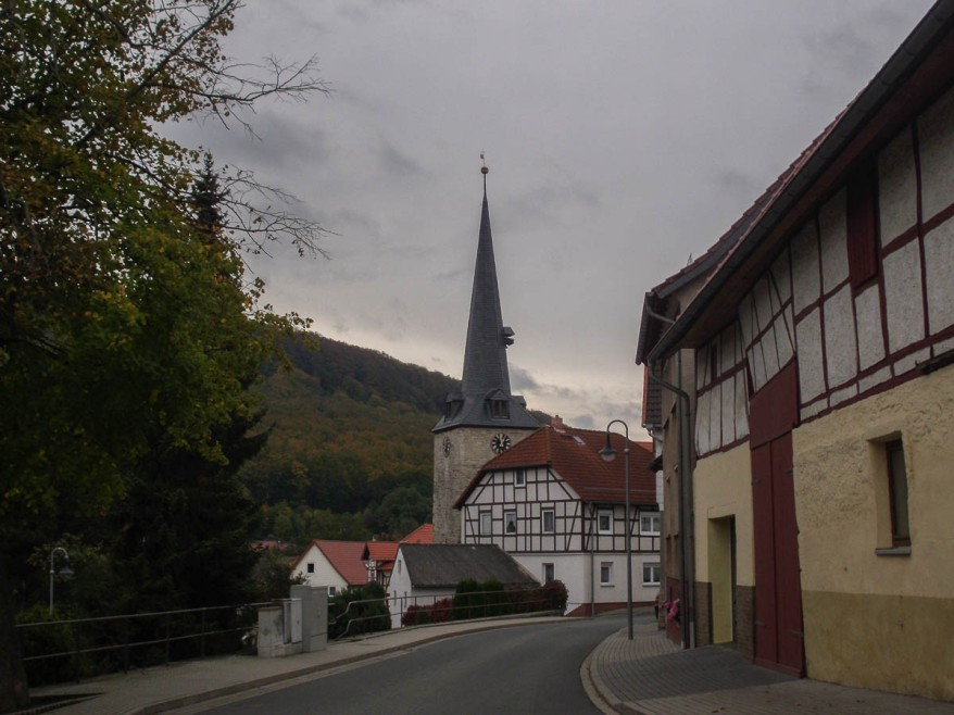 village in thuringia