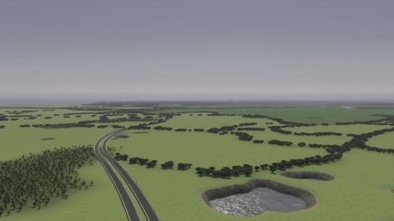 Cities Skylines Map Work in Progress