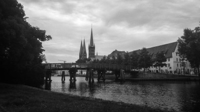Lübeck in Black and White