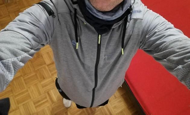 after jogging tour in december