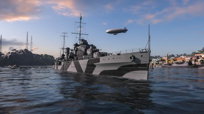World of Warships Screenshot in Port - Perth