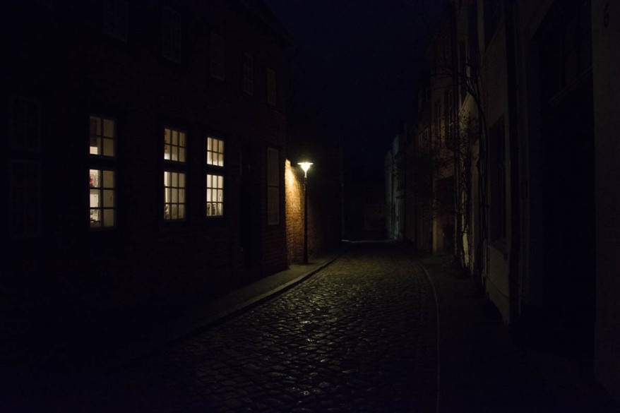 another old street in the evening - bad version