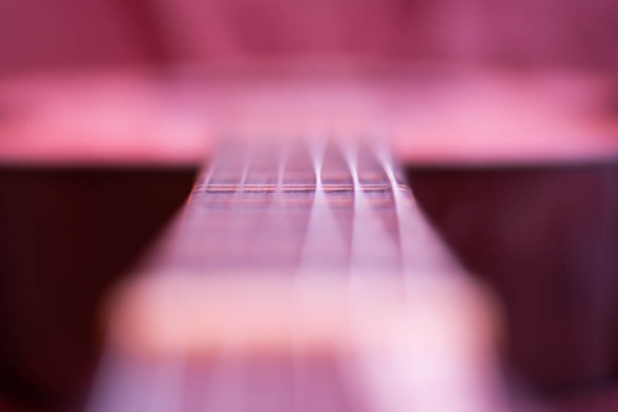 blurry guitar