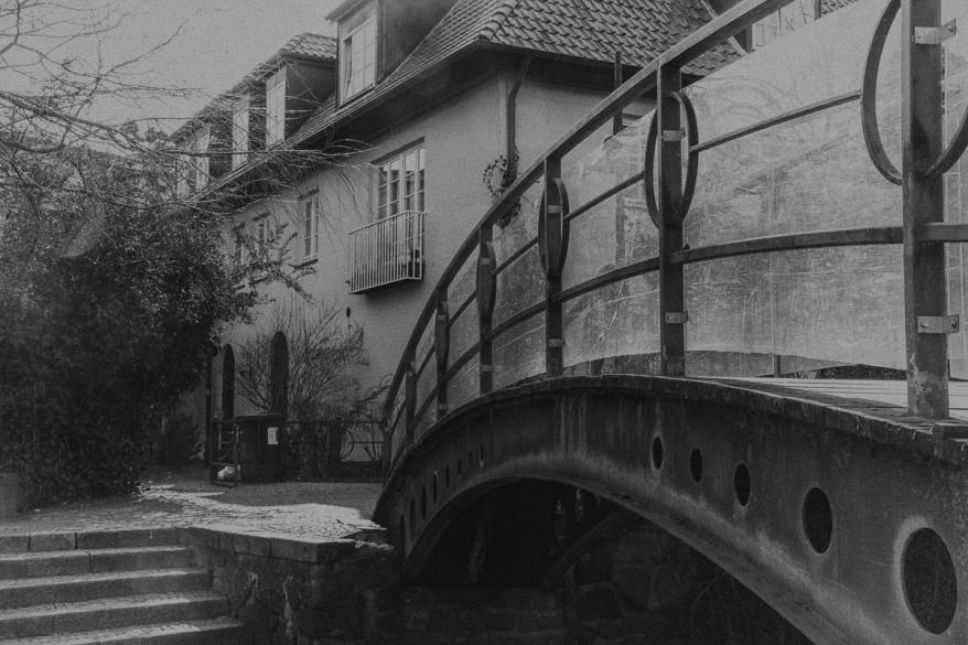 footbridge in bad oldesloe