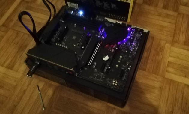 msi mpg b550 gaming plus bios flash 2
